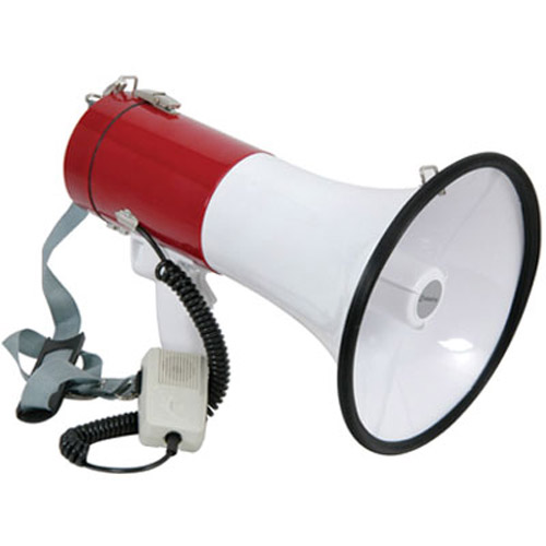 Powerful 30w Loud Megaphone With Siren Function