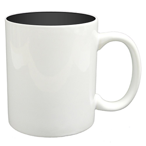 36 11oz Mugs - Black Colour Sublimation Printing + Inner Boxes