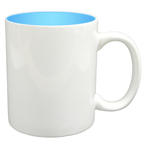 36 11oz Mugs - Blue Colour Sublimation Printing + Inner Boxes