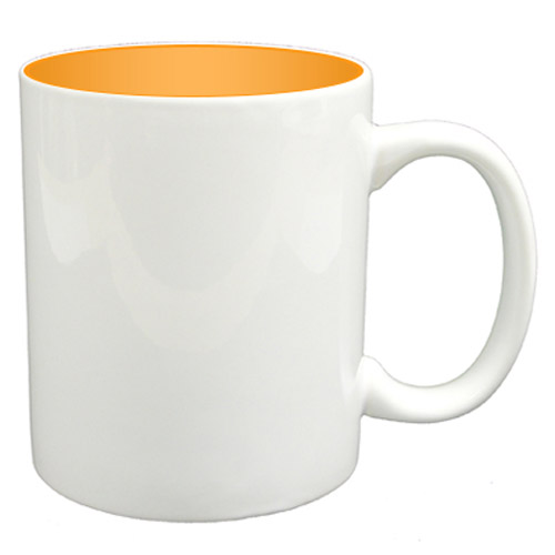 36 11oz Mugs - Orange Colour Sublimation Printing + Inner Boxes