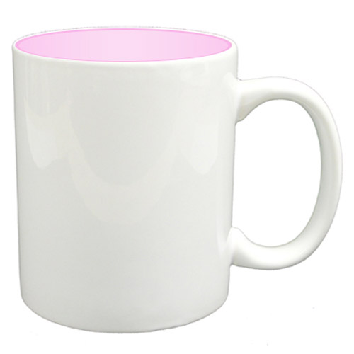 36 11oz Mugs - Pink Colour Sublimation Printing + Inner Boxes