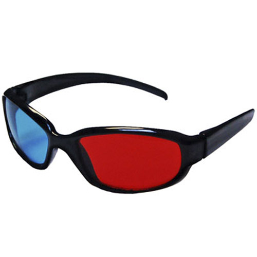High Quality 3-D Anaglyph Movie Glasses