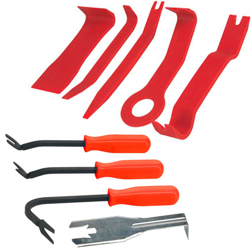 9 Piece Car Door Trim Upholstery Interior Removal Tool Set