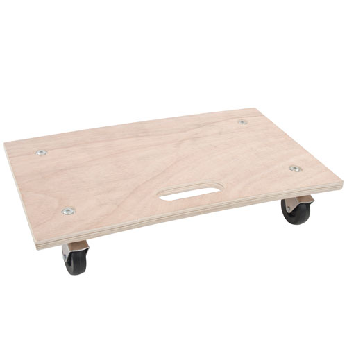 General Purpose Wooden Dolly Flat Bed Platform Removal Truck