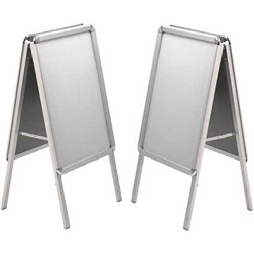 2 x A2 Poster Boards - Double Sided with PVC Backboard