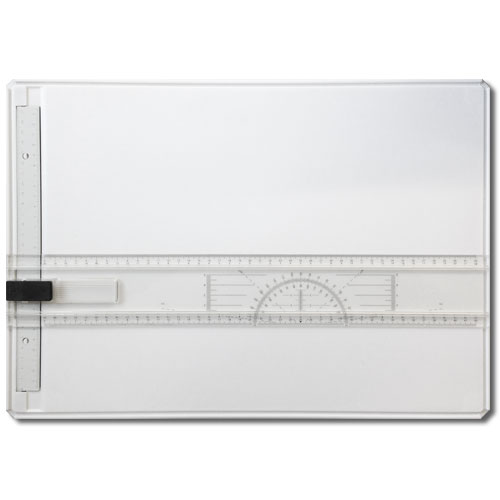 Deluxe A3 Drawing Board with Sliding Rule and Protractor