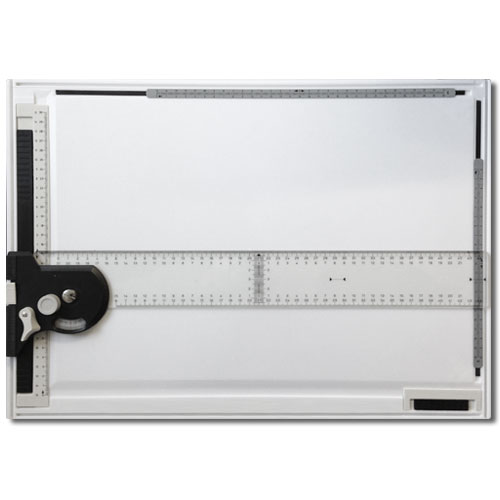 Professional A3 Drawing Board with Angle Rule and Paper Holder