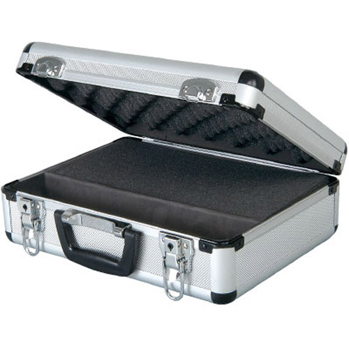Aluminium Microphone Storage Case Holder - Hold Accessories Too
