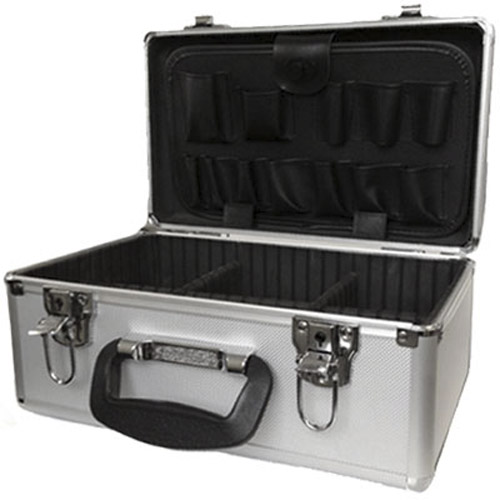 Lockable Electricians Compact Aluminium Tool Flight Case Box
