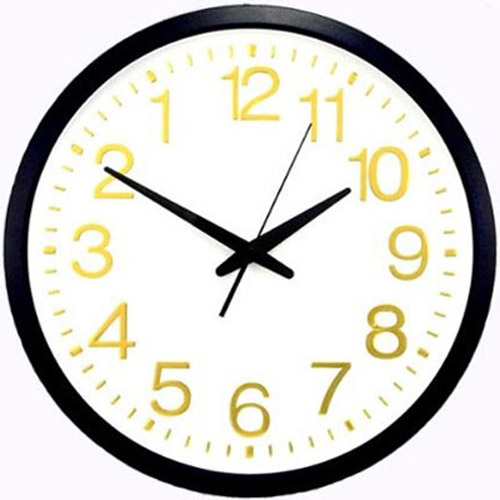 12 Inch Novelty Backwords Moving Clock