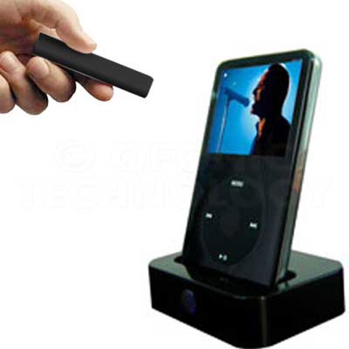 iPod Dock and Remote - Black