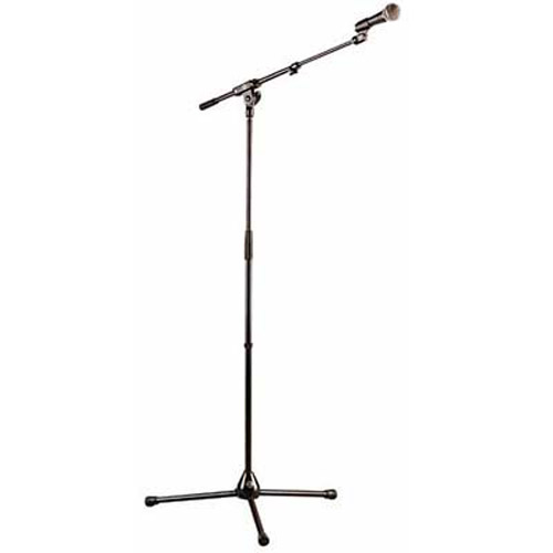 Adjustable Boom Microphone Stand and Mic Clip