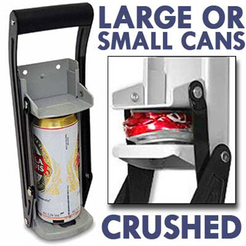 Can Crusher - For Large and Small Cans