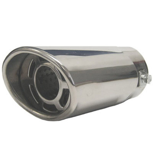 3.5 Inch Stainless Steel Chrome Finished Car Exhaust Outlet