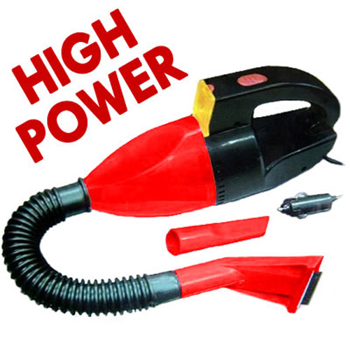 12V Portable Car Vacuum Cleaner and Hose