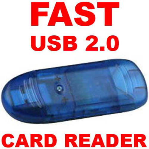 USB 2.0 Card Reader - SD / MMC / RS MMC / TFLASH