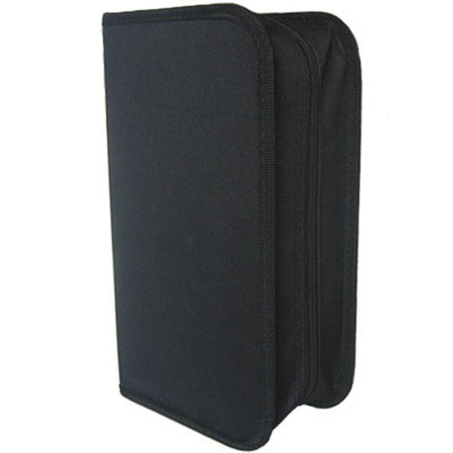 CD, DVD, Game Disk Wallet Holder Carry Case - Holds 120 Disks