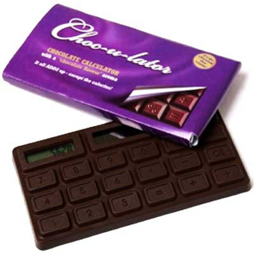 Choc-U-Lator Chocolate Calculator - Smells and Looks Like Chocol