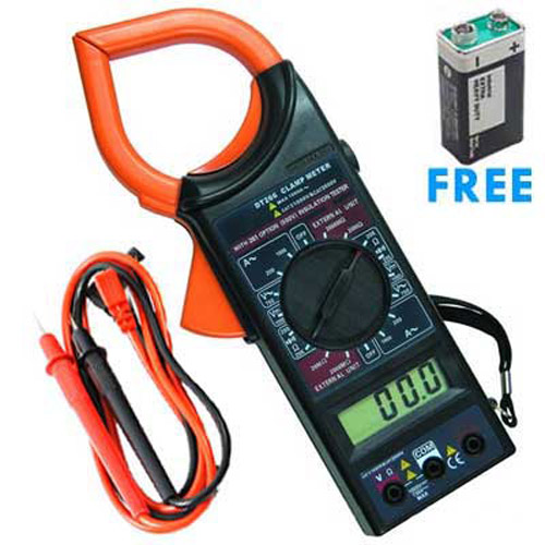 Digital Clamp Meter (1000A) & Multimeter