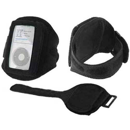 Protective Armband Case for iPod Classic 80GB 160GB - Black