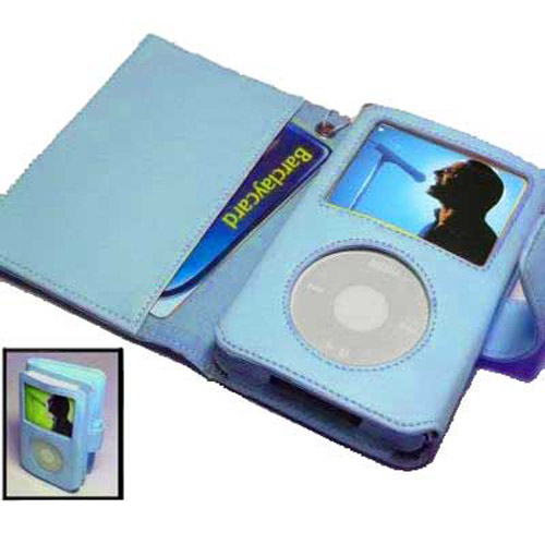 Wallet Case for iPod Classic 180GB - Blue