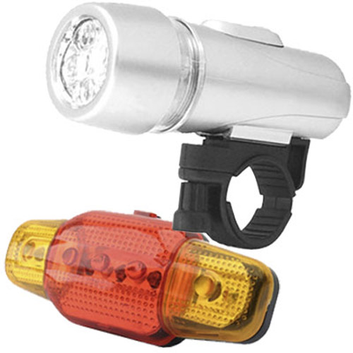 Cycle Bike 5 LED Light & Torch for Front/Back