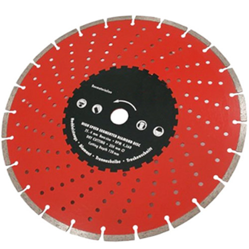 14inch (350mm) Segmented Diamond Cutting Grinder Saw Disc Blade