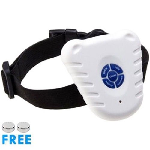 Anti-Bark Dog Training Control Collar
