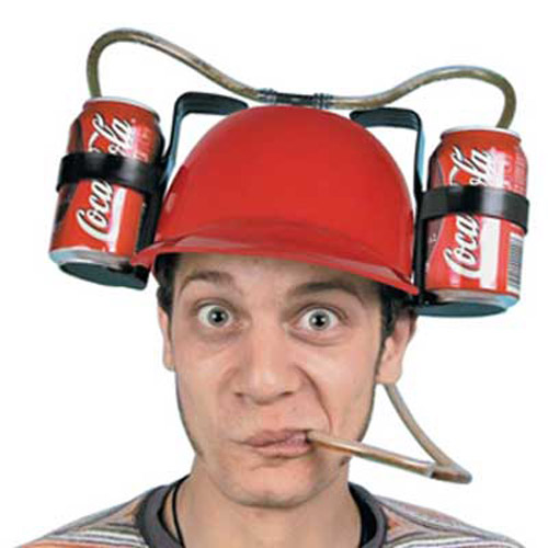 Drinking Helmet - Great Joke Gift for Drinking Games