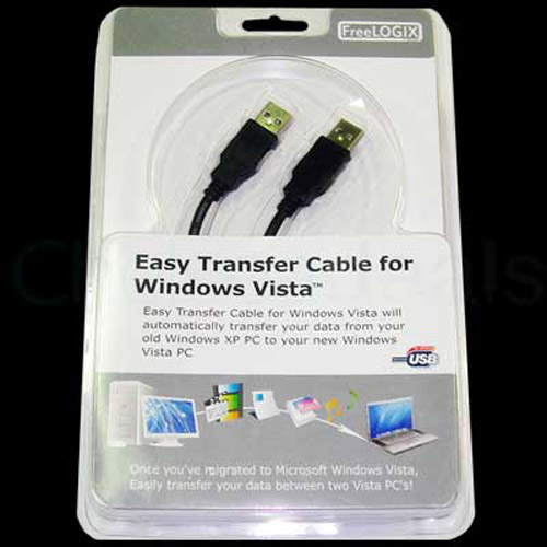 USB 2.0 Link Adapter Cable 'Easy Transfer Cable' for Vista