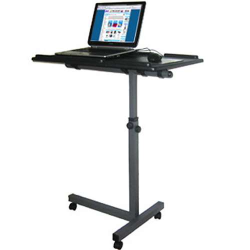 Exhibition Laptop Notebook Stand Table - Fully Adjustable