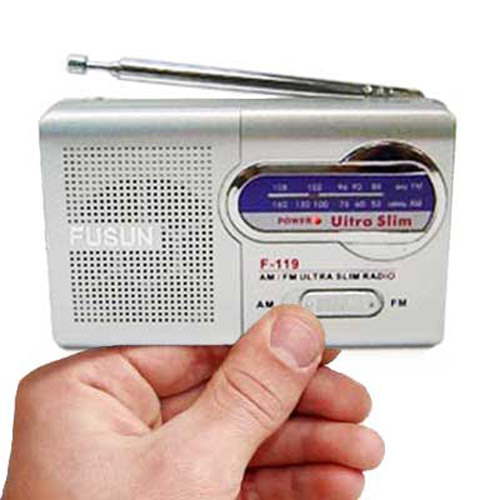 Mini Pocket AM/FM Radio