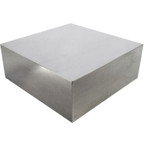 Polished Solid Steel Doming Anvil Bench Block 2.5 x 2.5 x 1inch