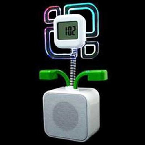 USB Flower Speaker With Alarm Clock