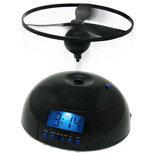 Flying Alarm Clock - Sure to wake you in the morning!