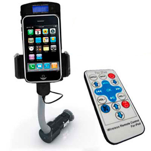 FM Transmitter for the Iphone with Remote