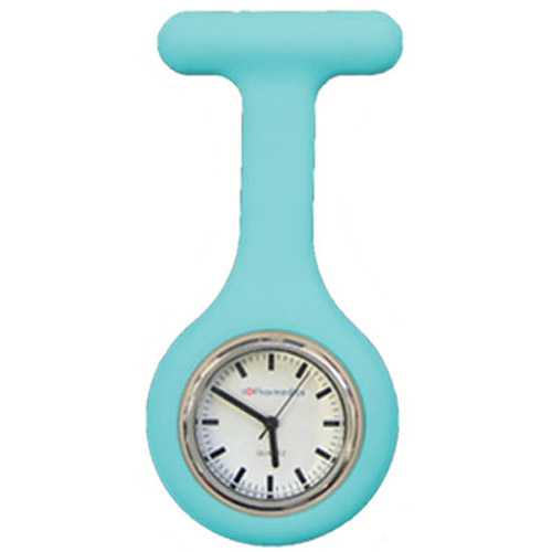 Blue Silicone Nurses Fob Watch