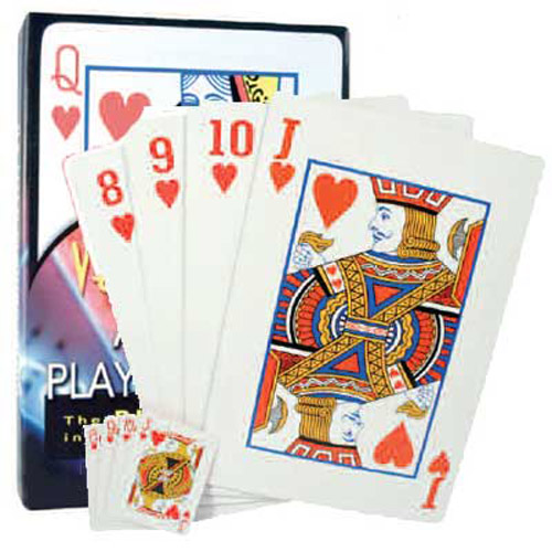 A4 Sized Giant Playing Cards - Great Quality