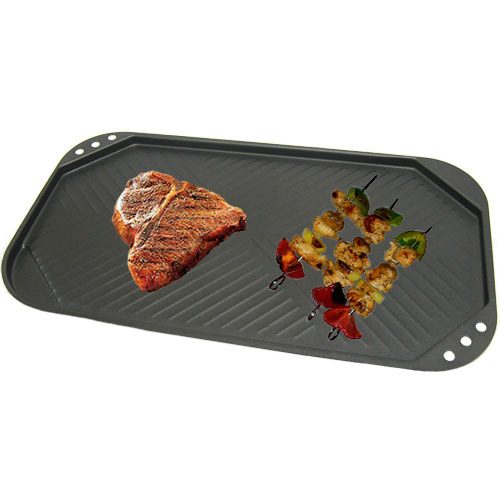 Non Stick Healthy Smokeless BBQ Stove Top Water Grill Pan