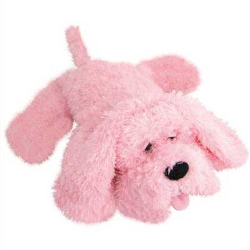 Pink Hot Water Bottle Dog