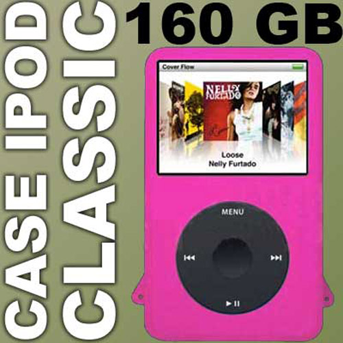 iPod Classic Silicone Skin Case 160 - Pink