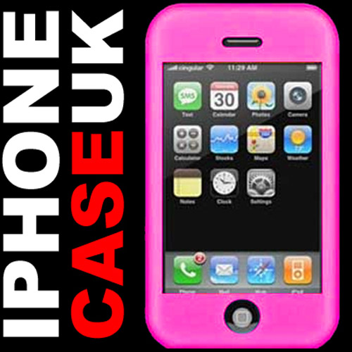 Apple iPhone Silicone Skin Case - Pink