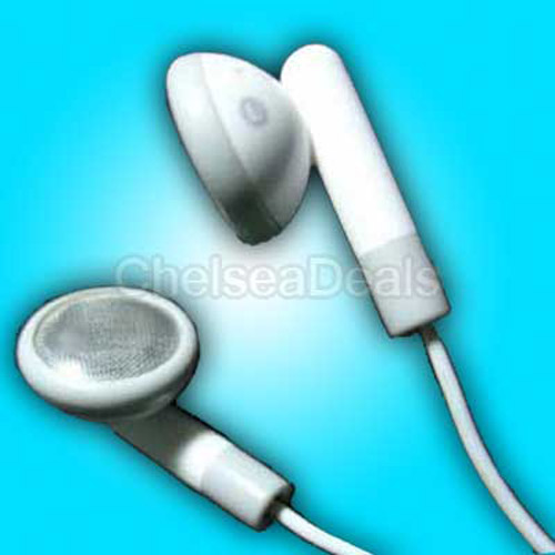 Brand New iPod Earphones for Nano / Video / Mini / etc