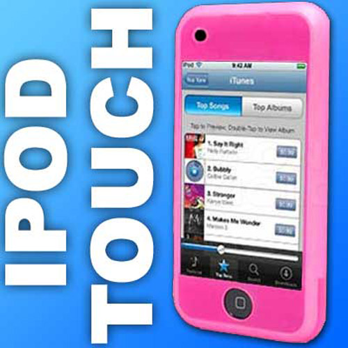 Apple iPod Touch Silicone Skin Case - Pink