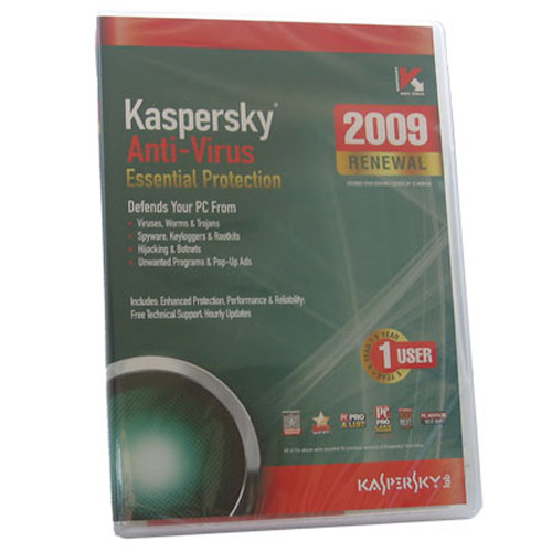 Kaspersky Internet Security 2009 1 User 1 Year Retail Box