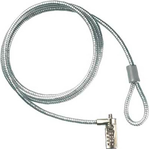 New Notebook Laptop Security Steel Cable Lock Chain - Code