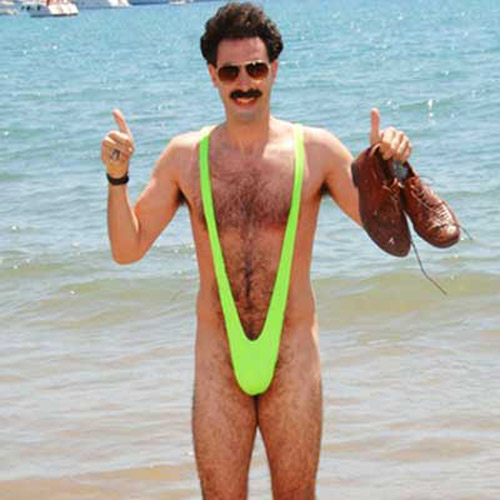 The Official Licensed Borat Mankini Body Thong