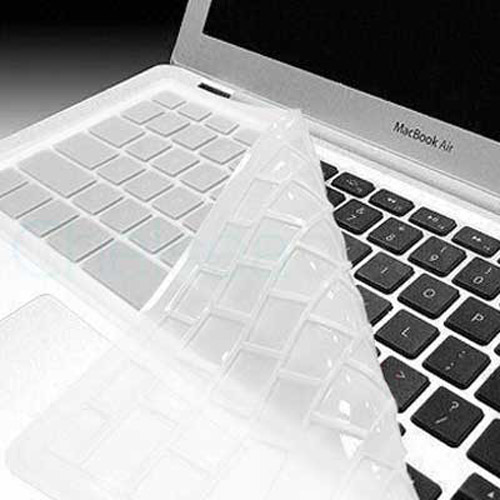 KeyBoard Silicone Cover Skin Case For MacBook Air - White
