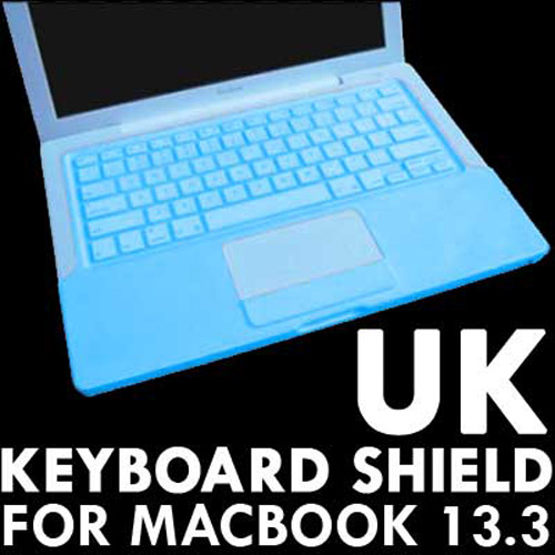 "KeyBoard Silicone Cover Skin case For 13.3"" MacBook - Blue"