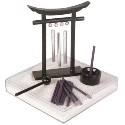 Meditation ZEN Garden (Chimes, Incense Holder and more)